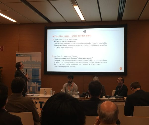 M-Sec joins discussions on innovation with the EU, Japan and Korea