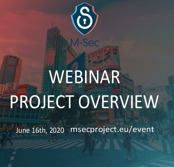 Webinar – M-Sec project overview