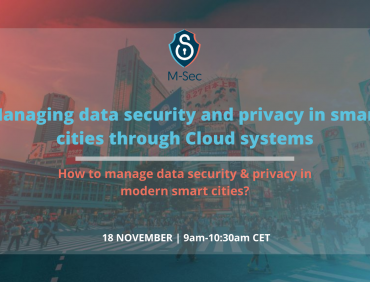 How to manage data security & privacy in modern smart cities?