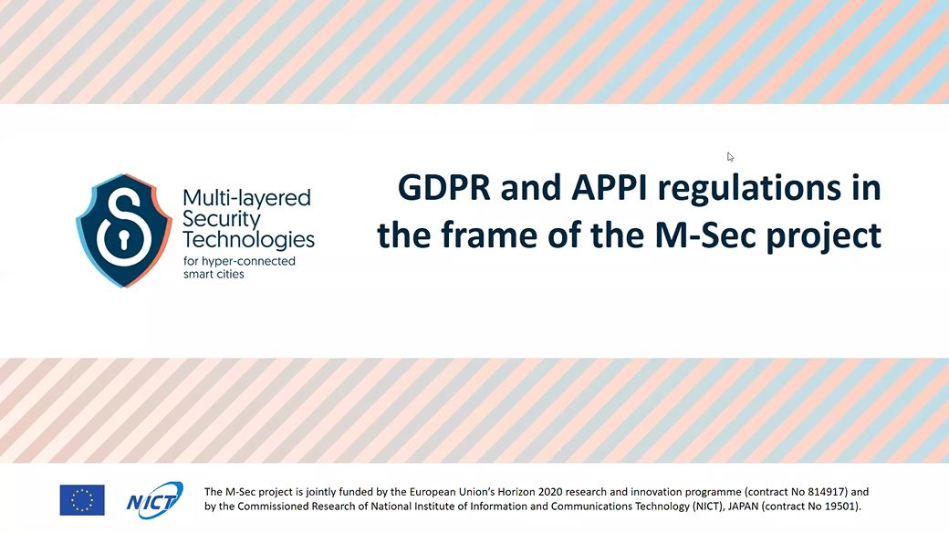 Want to know more about M-Sec's approach to privacy regulation on EU and Japan?