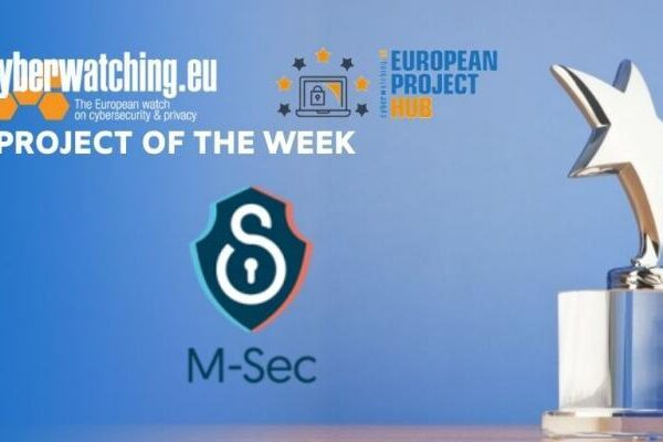 M-Sec highlighted by Cyberwatching.eu, in an effort to democratize cyber-security for all