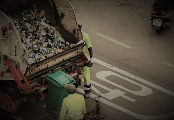 Secure Real-time environmental data and garbage counting system – promoting environmental awareness in an urban context