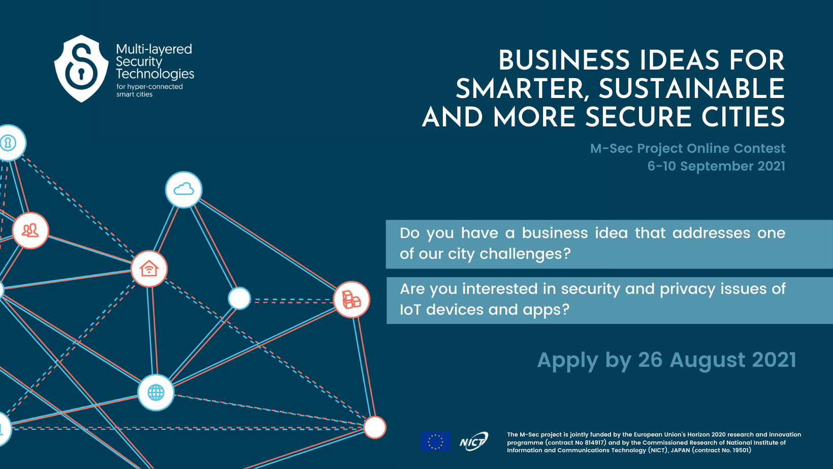 Are you ready for the challenge? Join our M-Sec Online Contest by 26 August