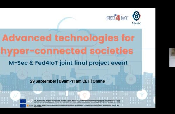 Curious about the M-Sec and Fed4IoT projects joint final event? Recap our main takeaways